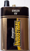 6V Energizer Springtop Battery