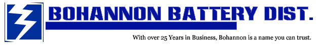 Bohannon Battery Distributor, Putnam County's Battery Specialist