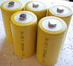D cell NiCd 5000mAh rechargeable Battery